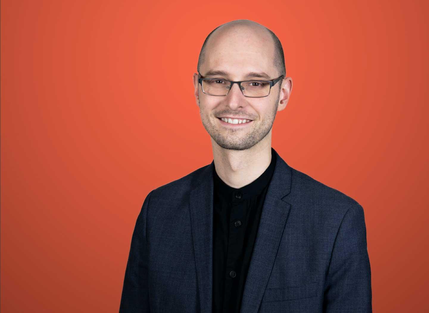 Marcus Weiland porträtt